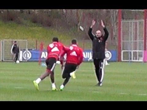 Funny Ribery vs Alaba makes Pep Guardiola angry – Alaba macht Guardiola wütend – FC Bayern Munich