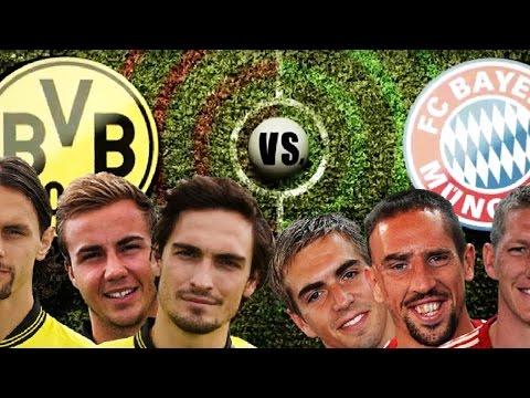 DORTMUND vs. BAYERN – Champions League RAP BATTLE
