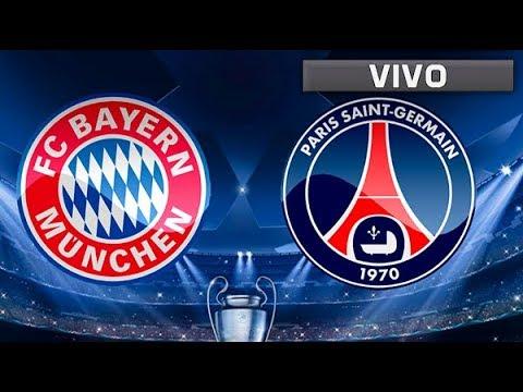 PSG vs FC Bayern Munich en vivo gratis por internet – Champions League Live Stream