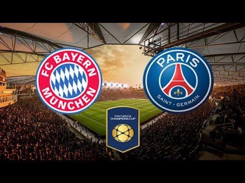 Bayern Munich vs Paris Saint-Germain PSG | International Champions Cup 21 July 2018 Gameplay