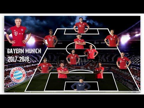Bayern Munchen Potential Lineup Next Season 2017-2018