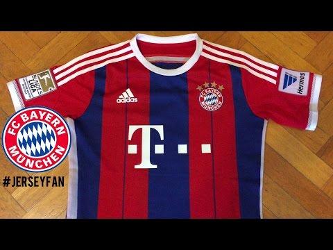 Adizero FC Bayern Munchen | Jersey 2014-2015 Review