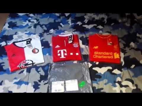 Gogoalshop.com shirts Review 2016/17 season kits – Feyenoord, F.C.Bayern München & Liverpool F.C.