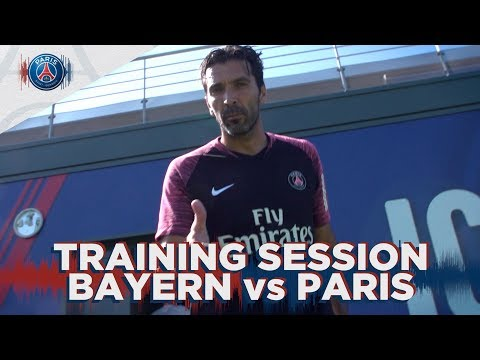 TRAINING SESSION – BAYERN MUNICH vs PARIS SAINT-GERMAIN