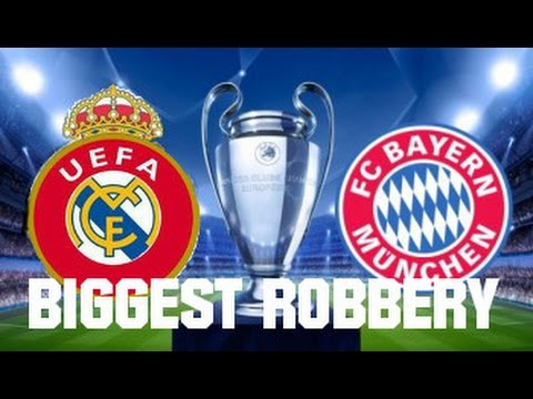 Real Madrid – Bayern München (Agg 6:3) | The Biggest Robbery in the history of Football?