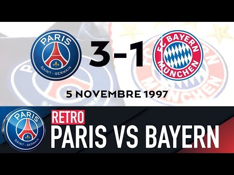 RETRO – PARIS SAINT-GERMAIN vs FC BAYERN MUNICH 1994, 1997, 2000