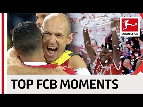 FC Bayern München Are Bundesliga Champions – Best Moments 2017/18