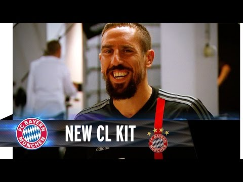 Back in Black – FC Bayern's new Champions League Kit