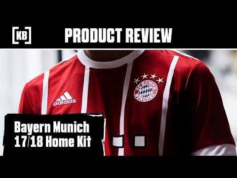 Bayern Munich 17/18 Home Kit Product Review | Kitbag