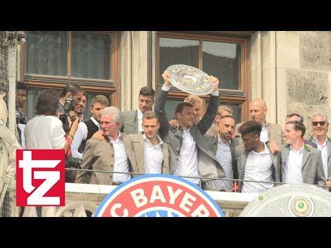 FC Bayern Meisterfeier: Das sind die Highlights