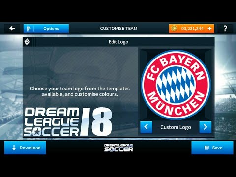 How To Import Bayern München (Bayern Munich) Logo And Kits In Dream League Soccer 2018