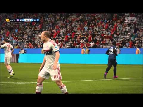 FIFA 16 Online Match Gameplay – Bayern Munich vs. PSG