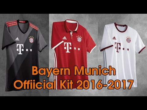 adidas Bayern Munich Official Kit 2016-2017