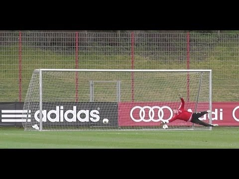 Raif Husic – FC Bayern Munich goalkeeper skills – Training