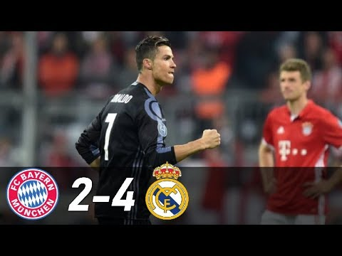 Bayern Munich vs Real Madrid 2-4 | All Goals & Extended Highlights