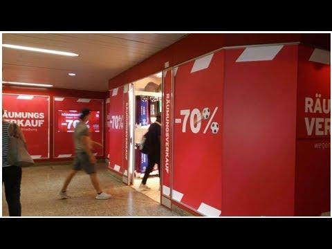 Räumungsverkauf im Fan-Shop des FC Bayern München am Hauptbahnhof: Das steht dahinter