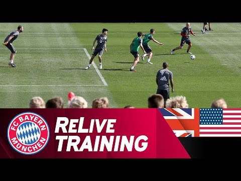 FC Bayern Training from Doha | ReLive