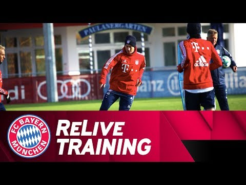 ReLive | FC Bayern Training w/ Müller, Vidal & more!