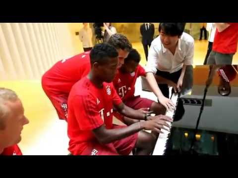 Lang Lang – Piano Lessons with FC Bayern Players
