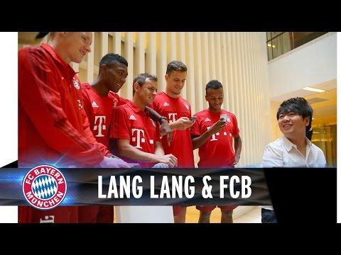 Lang Lang meets FC Bayern players