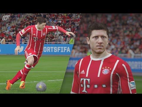 FIFA 18   FC Bayern München New Home Kit 17/18