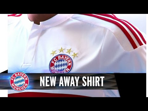 FC Bayern AWAY Shirt I Season 2015/16