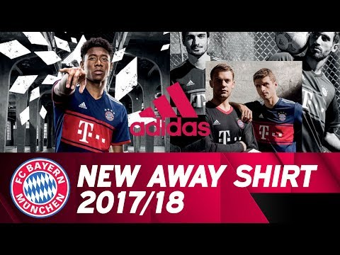 Presenting the 2017/18 FC Bayern Away Shirt!