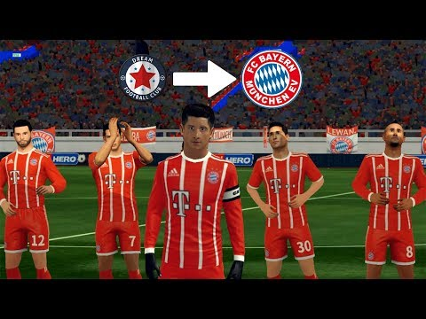 Create Bayern Munich Kits & Logo ★ Dream League Soccer 2018