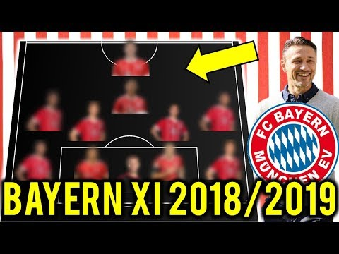 FC Bayern München Possible Line Up XI 2018/2019 Ft Lewandowski, Goretzka, Pavard