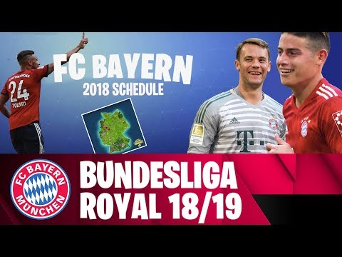 FC Bayern Bundesliga Schedule 2018/19 – Fortnite Style