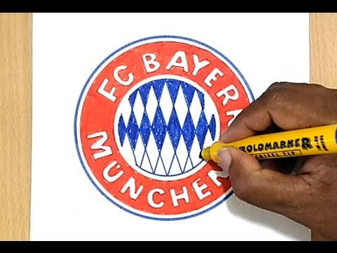 How to Draw the FC Bayern München Logo