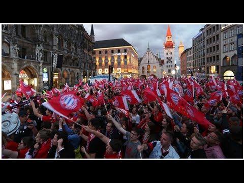 FC Bayern: Meisterfeier in München am 20. Mai auf dem Marienplatz