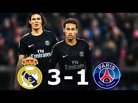 Real Madrid vs PSG 3-1 – All Goals & Full Highlights – 1/8 UCL 2017/18