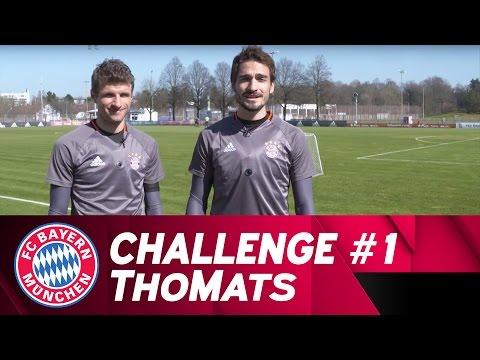 ThoMats #1 | Long-Distance Challenge | Müller vs. Hummels