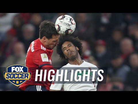 Bayern Munich vs. FC Augsburg | 2018-19 Bundesliga Highlights