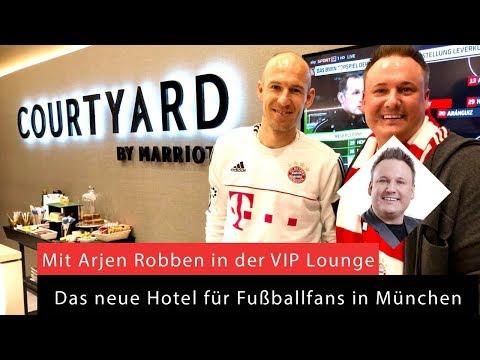 Arjen Robben, Allianz Arena, FC Bayern München, Bundesliga, Hotel, Marriott-Loge,