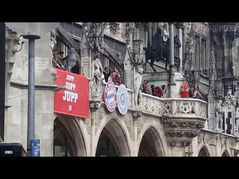 FC Bayern München Meisterfeier 2018: Jupp Heynckes Rede