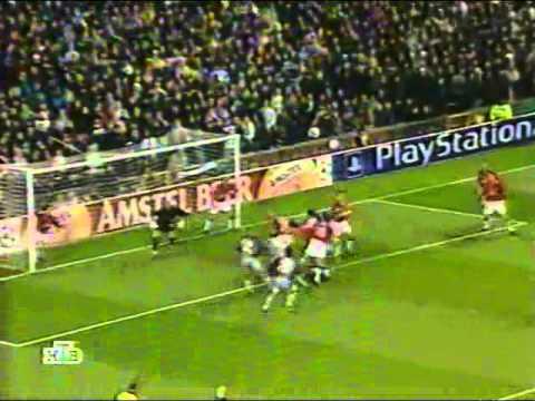 Manchester United vs Bayern München 13.03.2002 Champions League 2001/2002