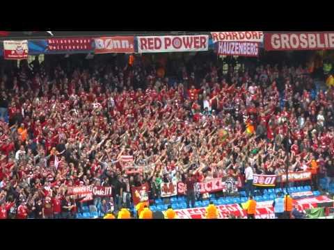 Bayern Munich vs Manchester City, Bayern fans sing