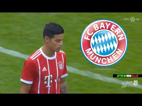James Rodriguez ● First Match for Bayern Munich + Interview ● 1080i HD #JamesRodriguez #BayernMunich