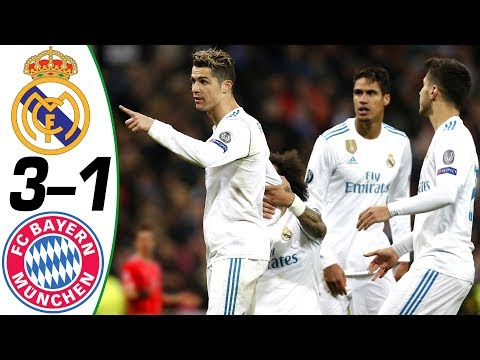 Real Madrid vs Bayern Munich 3-1 – All Goals & Extended Highlights RÉSUMÉ ( Last Matches ) HD