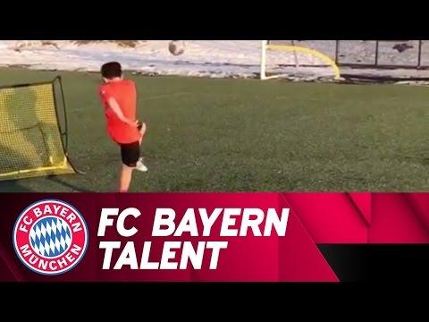 FC Bayern US Talent has got Serious Skills!