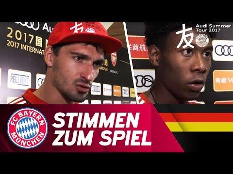 Stimmen zum Spiel   FC Bayern – FC Arsenal   Audi Football Summit