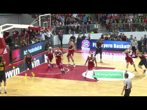 Pre-Season-Highlight FC Bayern Basketball vs. FC Barcelona (78:85)