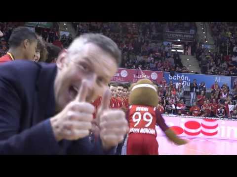 Im Audi Dome geht's ab beim FC Bayern Basketball!