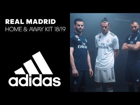 Real Madrid CF Home & Away Kits 2018/19