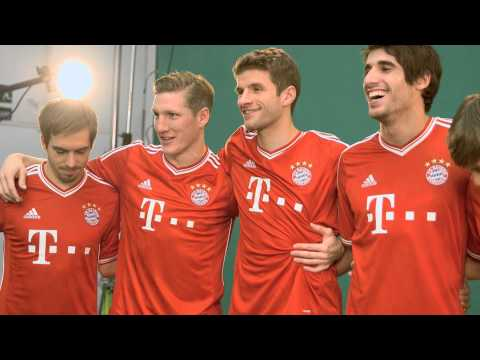 New FC Bayern home shirt – MAKING OF