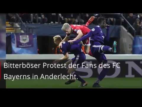 Bayern-Fans protestieren mit Spielgeld gegen Anderlechts Preise