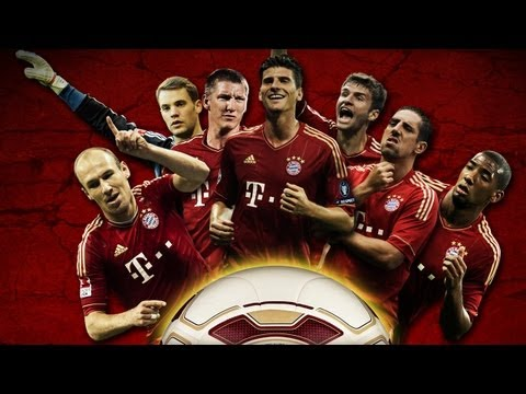 Adobe Photoshop Tutorial – FC Bayern München Wallpaper (CL-Final 2012)