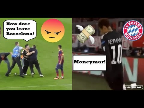 HOW NEYMAR JR REACTS TO HIS HATERS.. (BARCELONA & PSG)